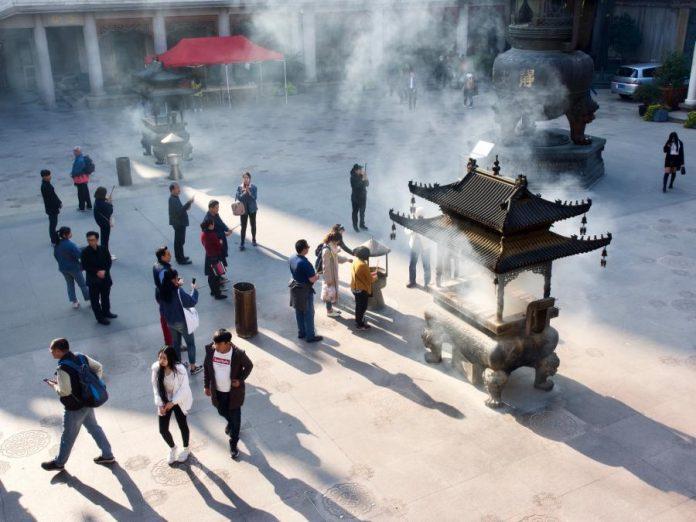 Shanghai Jing'an tempel