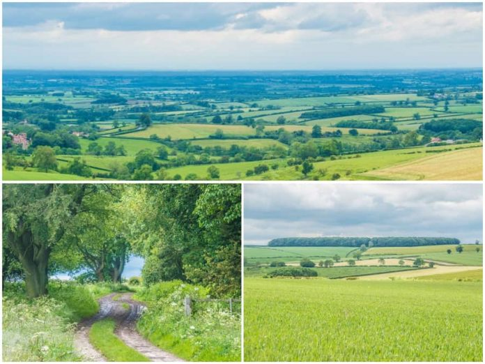 East Yorkshire Yorkshire Wolds bezoeken