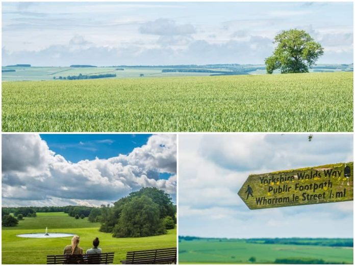 East Yorkshire Yorkshire Wolds National Trail wandelen