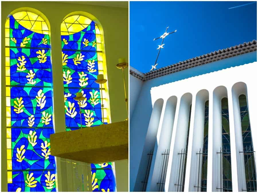 Matisse kerk La Chapelle du Rosaire in Vence