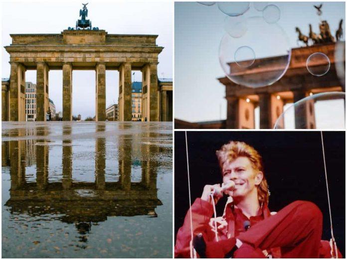 Bowie in Berlijn wandeling