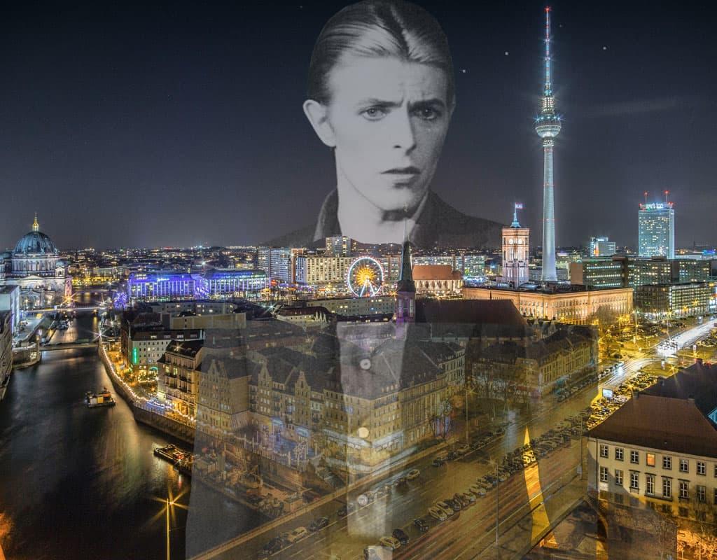 Bezoek de Duitse hoofdstad in de voetsporen van popartiest David Bowie.
