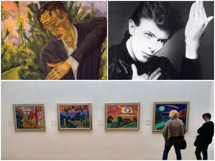 Bowie in Berlijn bezocht vaak Brücke Museum