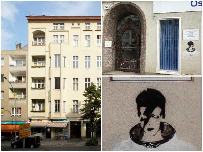 Huis van David Bowie in Berlijn Hauptstraße 155