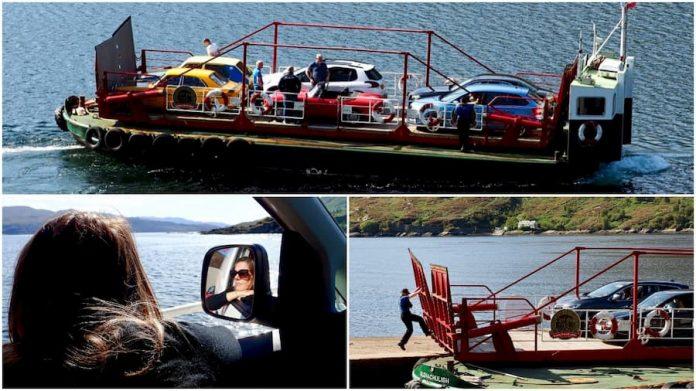 Isle of Skye Glenelg Kylerhea ferry