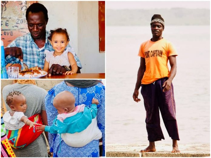 Vakantie naar Gambia mensen