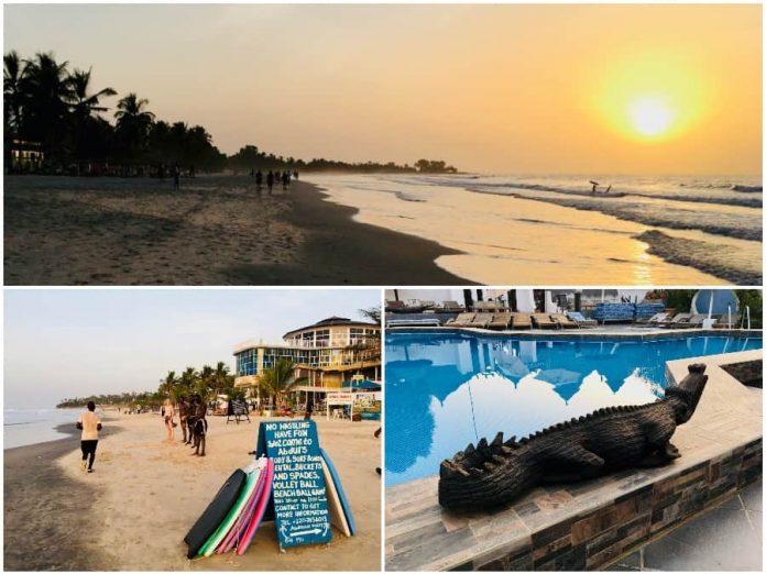 Vakantie naar Gambia strand
